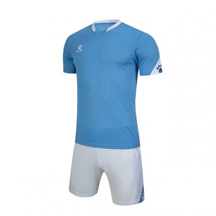 Комплект детской футбольной формы GIRONA (JR) голубо-белый 3803099.9476