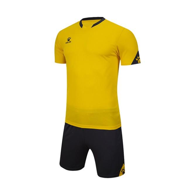 Комплект футбольной формы GIRONA желто-серый 3801099.9737