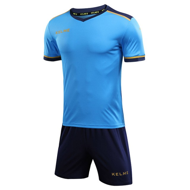 Комплект футбольной формы сине-т.синий к/р SEGOVIA 3871001.9996