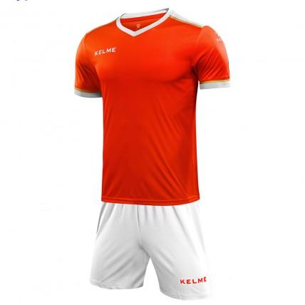 Комплект футбольной формы оранжево-белый SEGOVIA 3871001.9910
