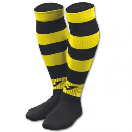 Гетры черно-желтые ZEBRA II 400378.109