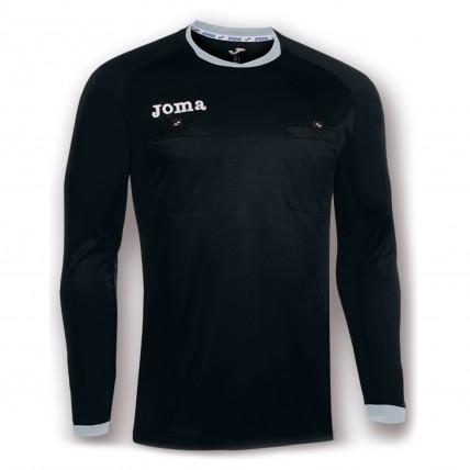 Судейская футболка черная д/р ARBITRO 100434.111