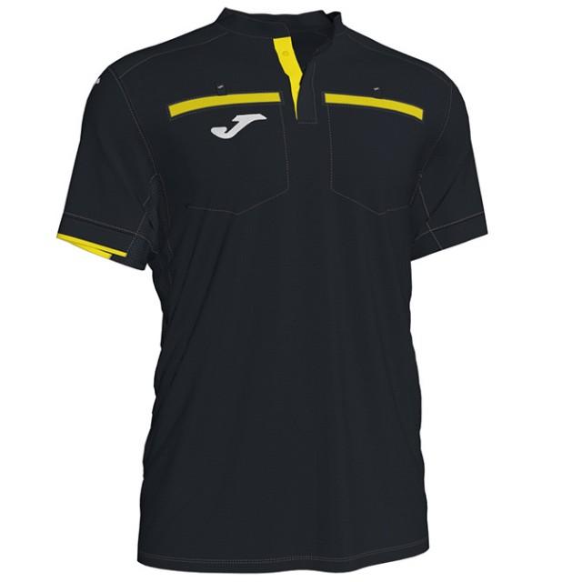 Судейская футболка черно-желтая REFEREE 101299.121