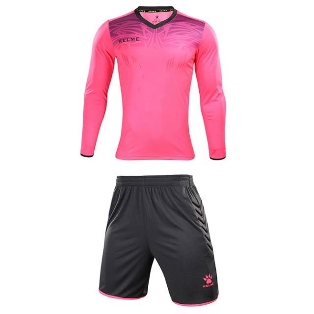 Комплект детской вратарской формы ZAMORA JR розово-серый 3873007.9997