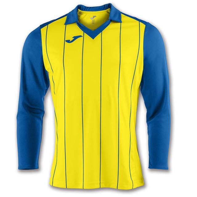 Футболка желто-синяя д/р GRADA 100681.907