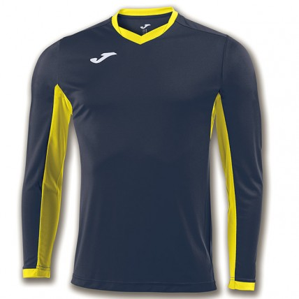 Футболка т.сине-желтая д/р CHAMPION IV 100779.309