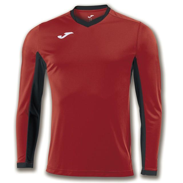 Футболка красно-черная д/р CHAMPION IV 100779.601