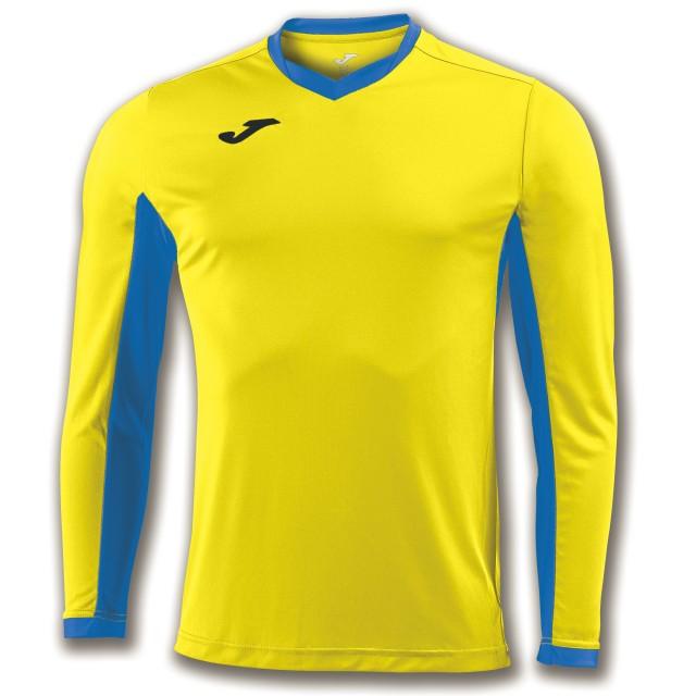 Футболка желто-синяя д/р CHAMPION IV 100779.907