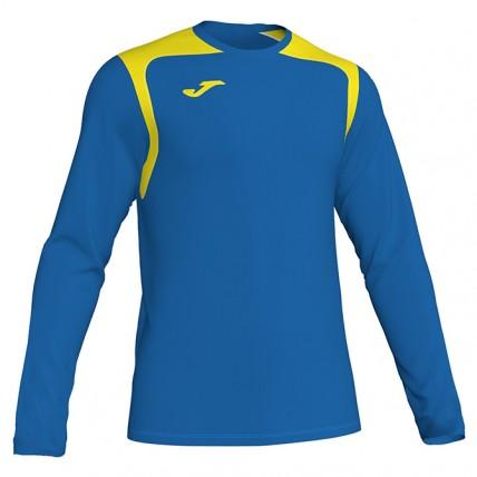 Футболка сине-желта д/р CHAMPION V 101375.709