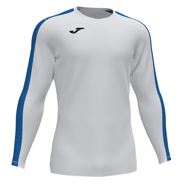 Футболка бело-синяя д/р ACADEMY 101658.207