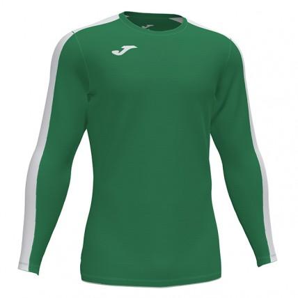 Футболка зелено-белая д/р ACADEMY 101658.452