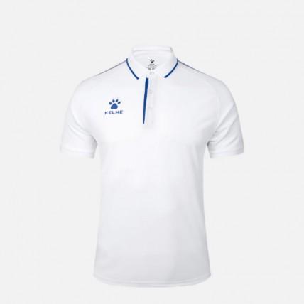 Футболка поло Polo MEN бело-синяя 3891066.9104