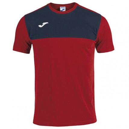 Футболка красно-т.синяя WINNER COTTON 101107.603