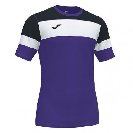 Футболка фиолетово-черная CREW IV 101538.551