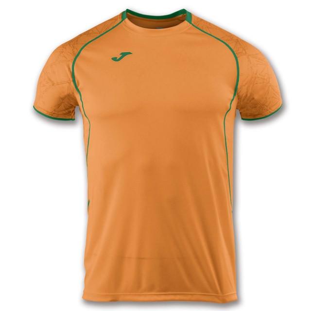 Футболка оранжево-зеленая OLIMPIA 100736.050