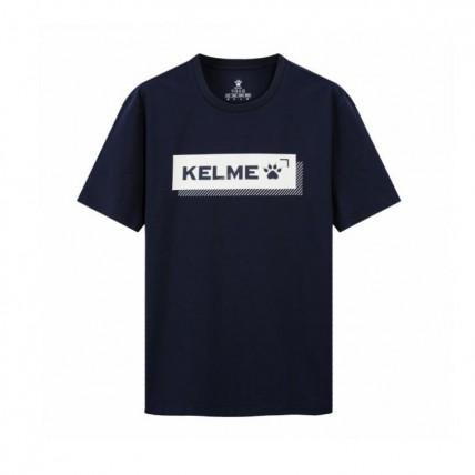 Футболка т.синяя Kelme Cotton 3801580.9416