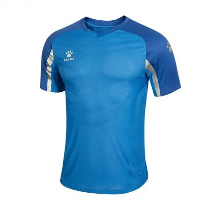 Футболка KELME голубая ELITE 8051ZB1004.9432