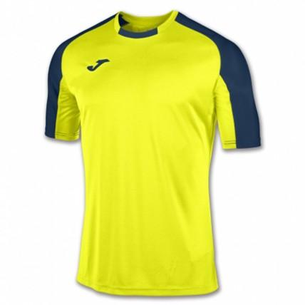 Футболка желто-т.синяя к/р ESSENTIAL 101105.063