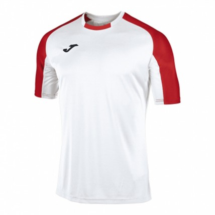Футболка бело-красная ESSENTIAL 101105.206