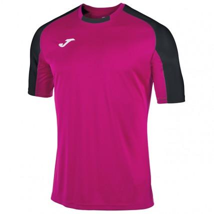 Футболка пурпурно-черная ESSENTIAL 101105.501
