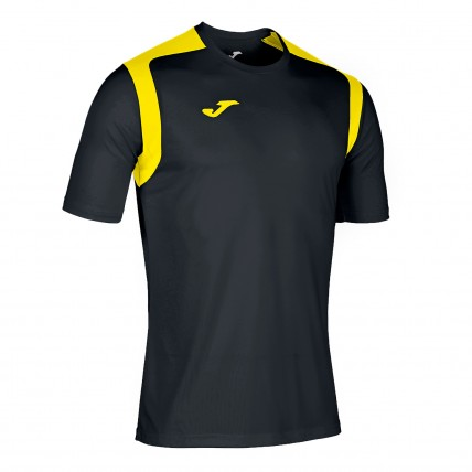 Футболка черно-желтая CHAMPION V 101264.109
