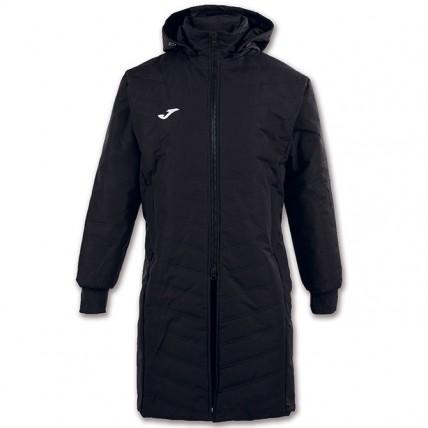 Куртка черная зимняя удлиненная ALASKA 100658.100