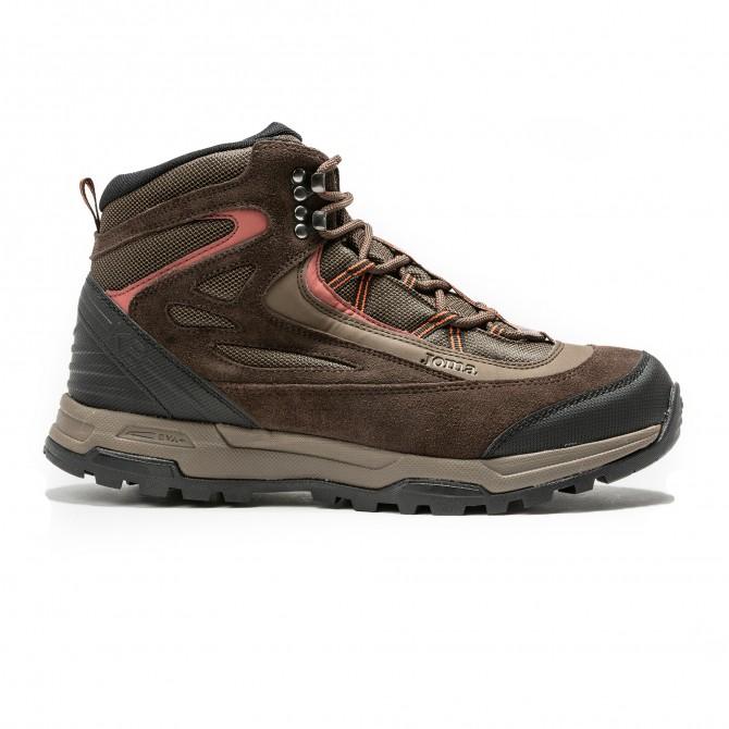 Ботинки мужские коричневые TK.K2W-924