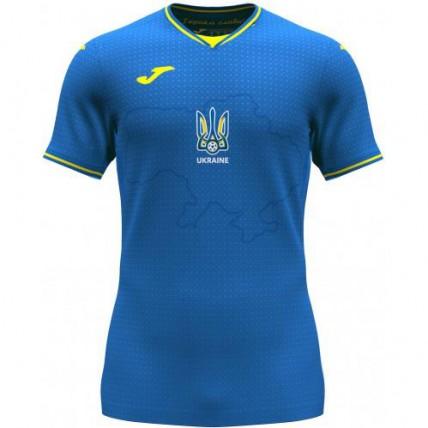 Футболка сине-желтая сборной Украины 2021 года AT102404A709