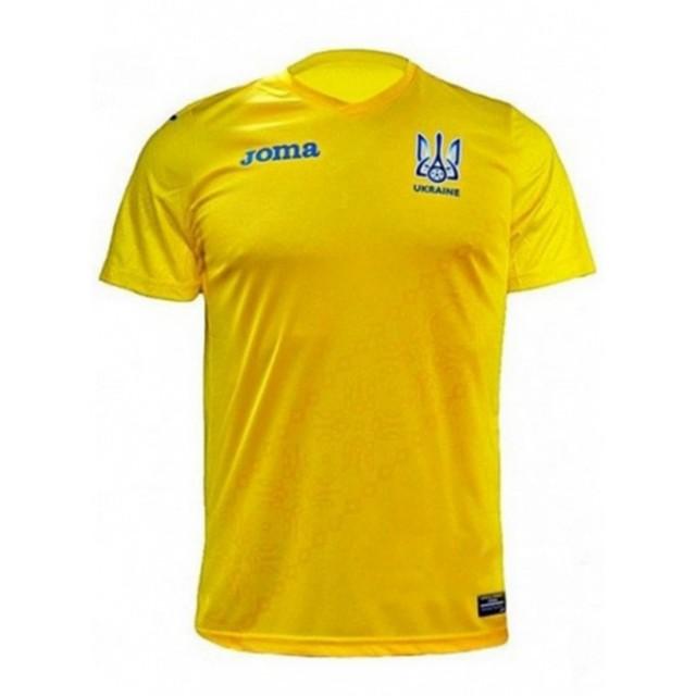 Футболка желтая реплика ФФ Украины FFU401011.18