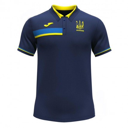 Футболка-поло т.сине-желтая ФФУ AT102376A339