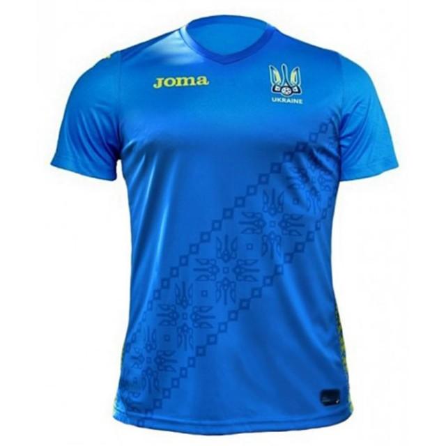 Футболка синяя РЕПЛИКА ФФ Украины FFU401012.18