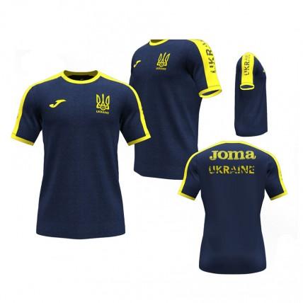 Футболка т.синьо-жовта ФФУ AT102362A339