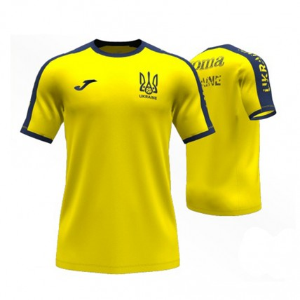Футболка жовто-синя ФФУ AT102362A907