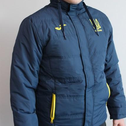 Куртка т.сине-желтая ФФУ AT102371A339