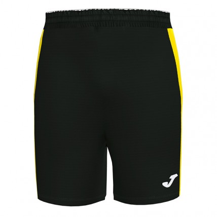 Шорты черно-желтые MAXI 101657.109