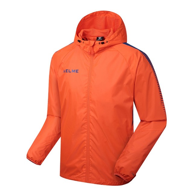 Ветровка оранжево-синяя Windproof K081.9924