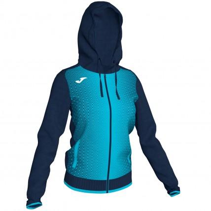 Олимпийка с капюшоном т.сине-бирюзовая женская SUPERNOVA 900891.342