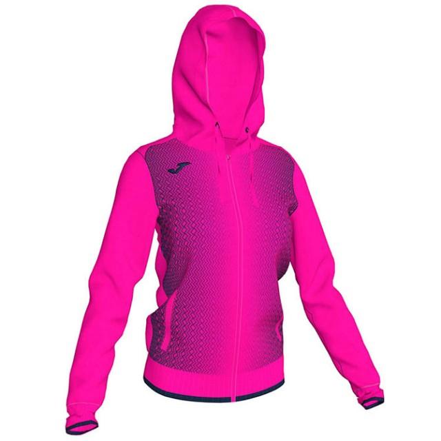 Олимпийка с капюшоном розово-т.синяя женская SUPERNOVA 900891.033